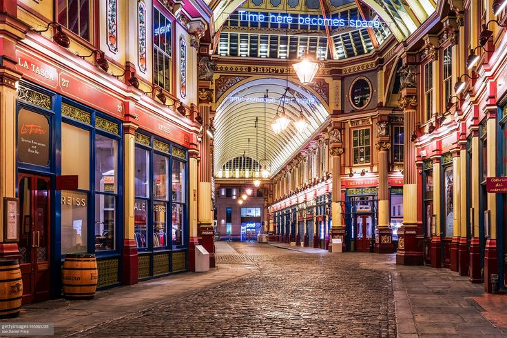Beautiful Leadenhall Market, London, England - Beautiful Leadenhall Market, London, England