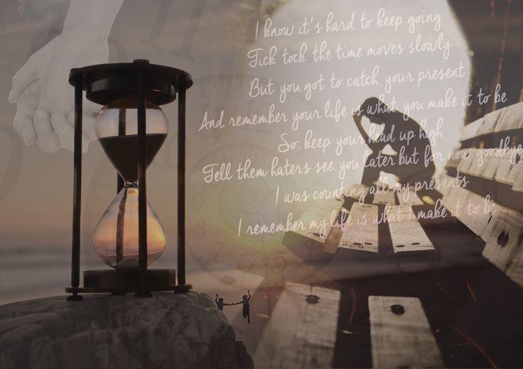 Martijn Zonnenberg - moodboard songtekst - Tick Tock - Lil' Crazed ft. Andrew Garcia