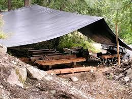 Image result for tarp shelter with log frame & 26 best Tarp wedding shelters images on Pinterest | Animal ...