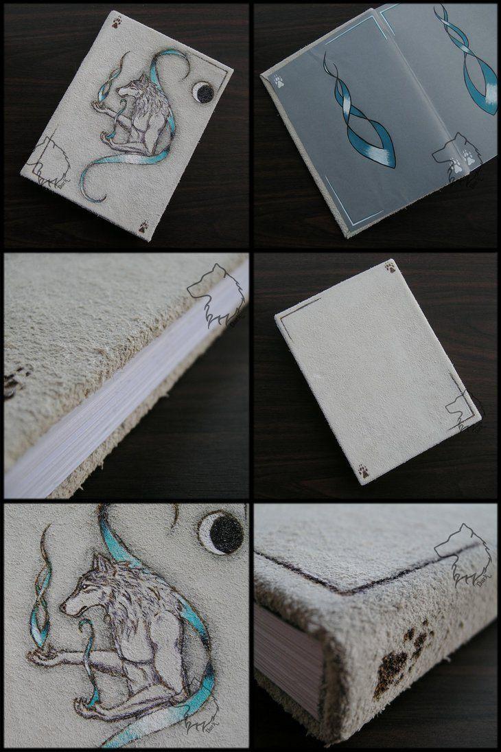 Spirit-Werewolfbook - handmade book by Dark-Lioncourt.deviantart.com on @DeviantArt