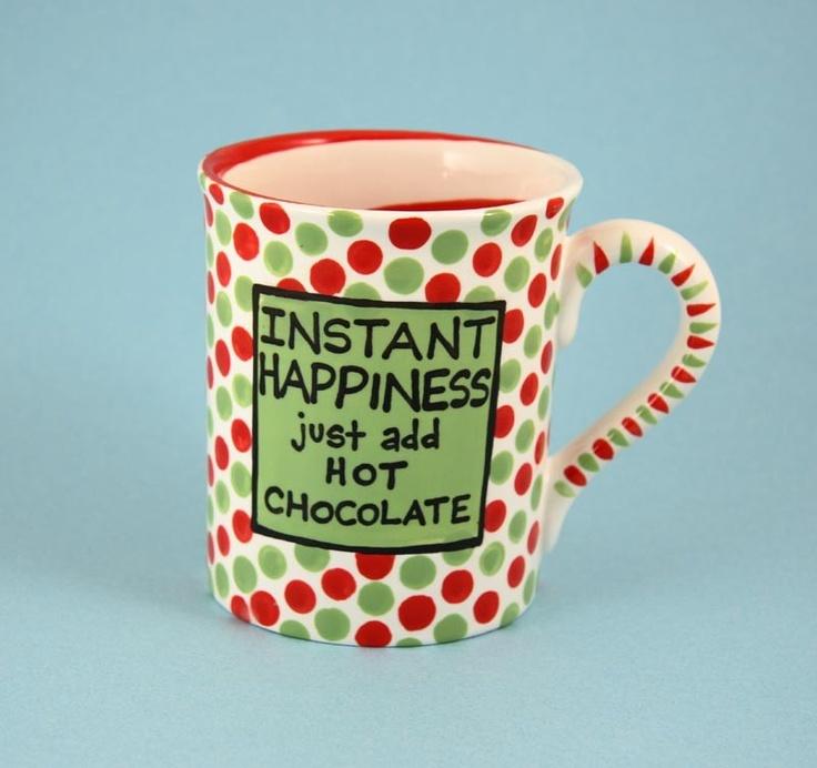 just add hot chocolate