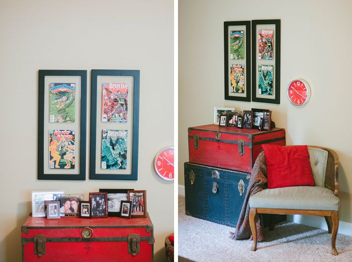 11 best images about living room decor ideas on pinterest for Comic book bedroom ideas