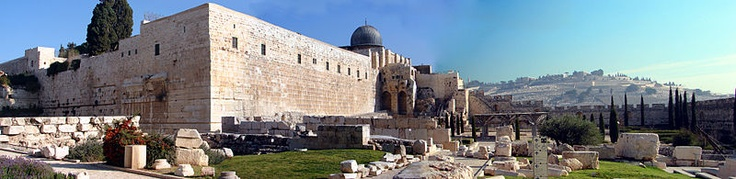 Ancient Temple artifacts still lay where the barbarians last discarded them.    Amazingly true.  Temple Mount, Jerusalem