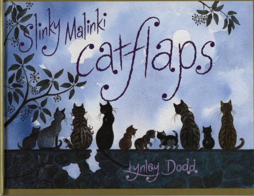 NEW-Slinky-Malinki-Catflaps-by-Lynley-Dodd-FREE-AUST-POST-Hardback-2011
