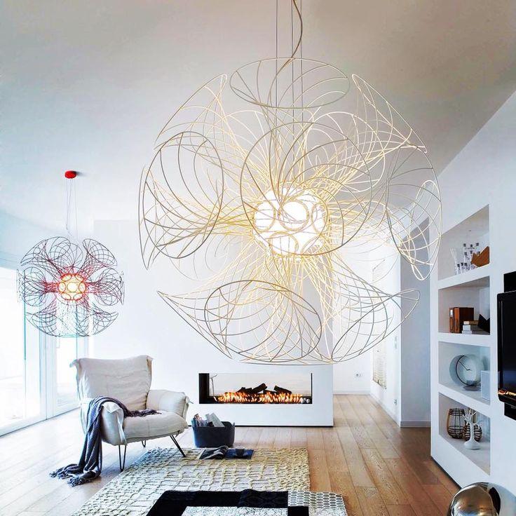 The Sphera Vita pendant brings life to any space! #architecturallighting #interiordesign #italianmade #lighting #pendant