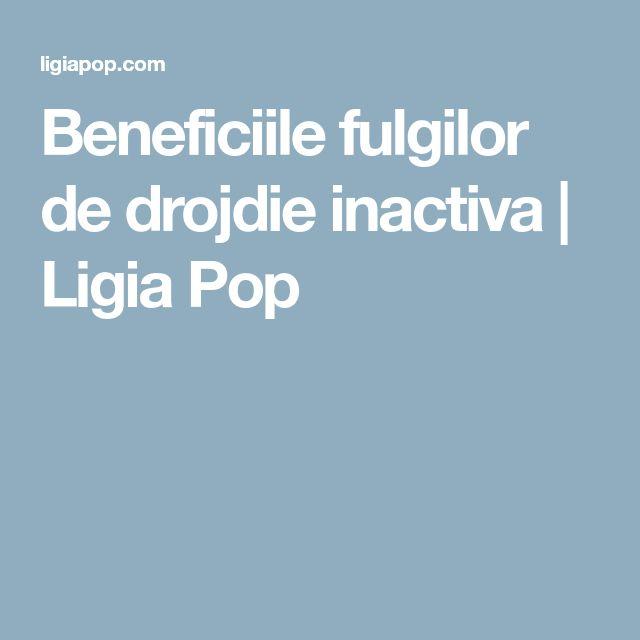 Beneficiile fulgilor de drojdie inactiva | Ligia Pop