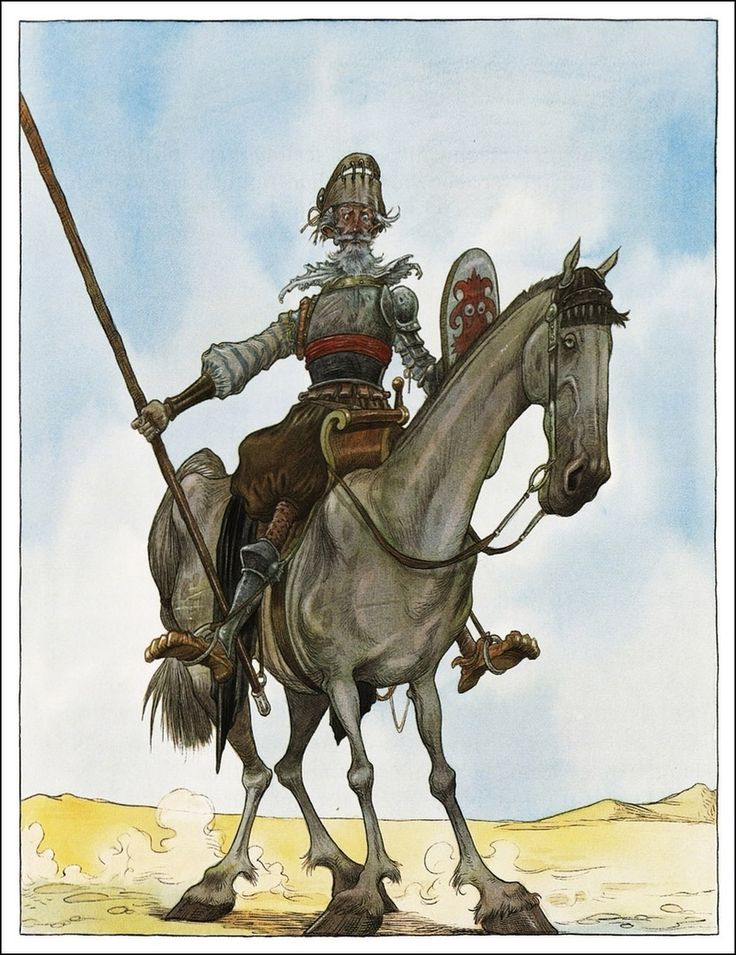 "Chris Riddell's Illustrations for ""Don Quixote"" - Book Artists and Their Illustrations - Quora"