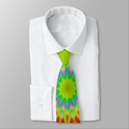 Abstract Explosion Tie by www.zazzle.com/htgraphicdesigner* #zazzle #gift #giftidea #tie #fathersday #colourful #abstract #colorful