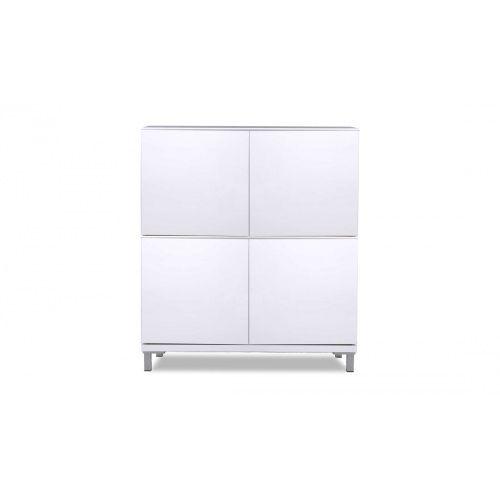 Kommode MiPuro I Weiß Set 4-Türig günstig online kaufen - FASHION FOR HOME