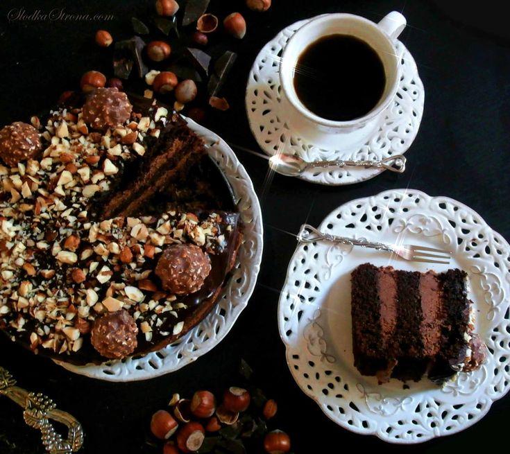 Słodka Strona: Tort Ferrero Rocher