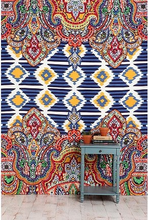 UO Geo Paisley Tapestry   seriously considering buying for my new apt?