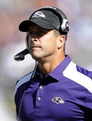 John Harbaugh, Baltimore Raven's coach. He's the only reason I'm a Ravens fan. :)