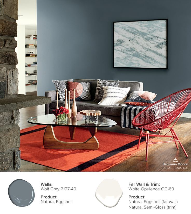 44 best color trends 2018 images on pinterest color - Trending paint colors for living rooms 2016 ...