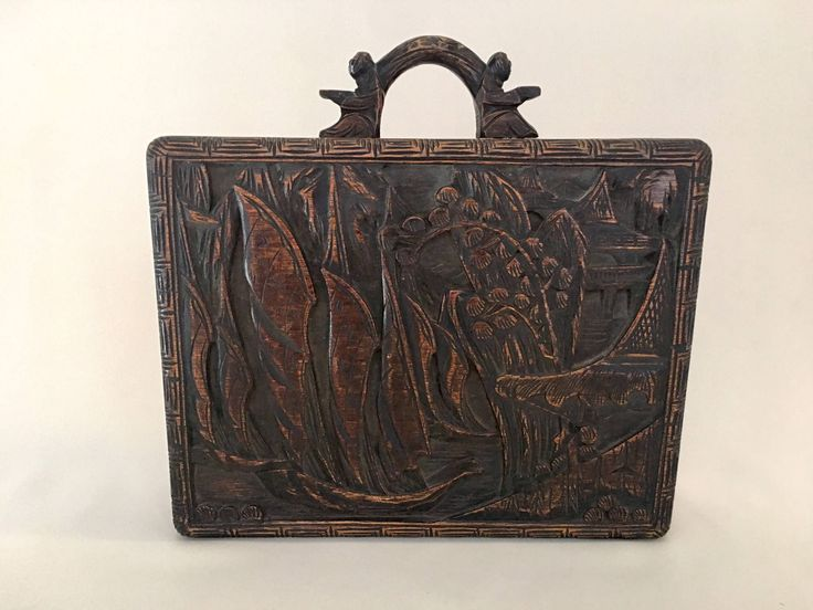 SECRET COMPARTMENT suitcase, Hidden compartment, Money safe, Hand-carved, Asian antique, Bottom sliding panel! Gorgeous decor and a safe by HollywoodTreasHunter on Etsy https://www.etsy.com/listing/531357534/secret-compartment-suitcase-hidden