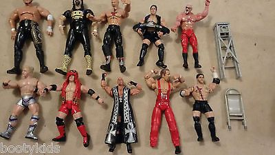 Tna marvel job lot of #wrestling #figures - aj styles, samoa joe, sting & #more!,  View more on the LINK: http://www.zeppy.io/product/gb/2/231779461052/