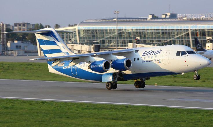 Ellinair British Aerospace Avro RJ85 SX-EMI