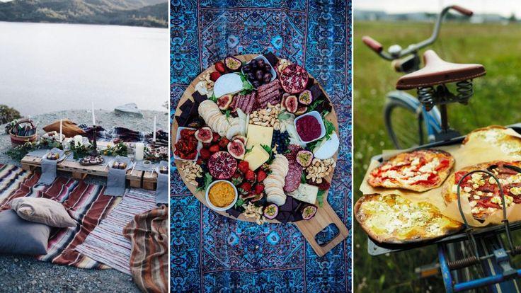 Inspiration till sommarens härligaste picknickar