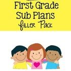 Perfect addition for your  emergency sub folder or your sub bag! These plans are for first grade and are Common Core aligned!   You or the sub just...