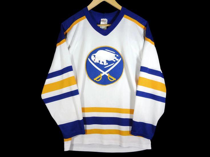 Buffalo Sabres Vintage 90s CCM Hockey Jersey - Small - NHL - New York Sports - New York State Hockey - 90s Clothing - Vintage Clothing - by BLACKMAGIKA on Etsy