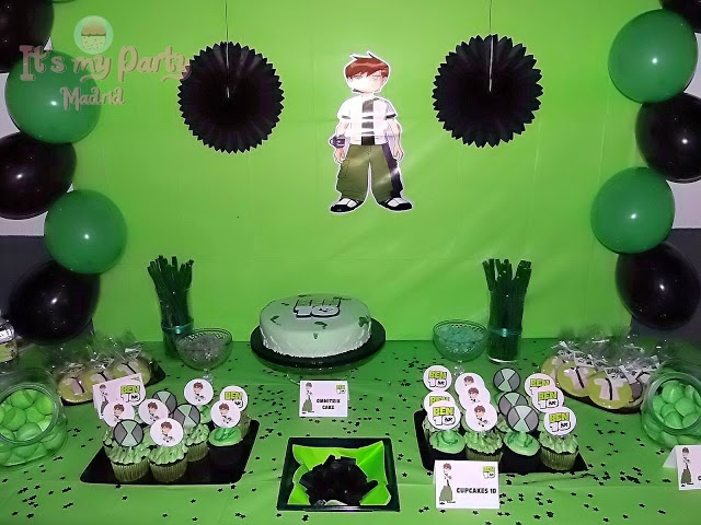 Its my Party Madrid: Mesa Dulce de Ben 10