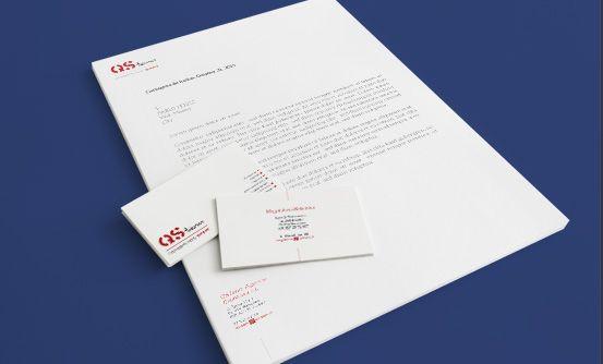 www.qsteam.pl - odświeżenie projektu materiałów firmowych // graphic design of new company printing for QSTeam