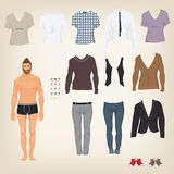 Male Hipster Dress Up Paper Doll - Download From Over 57 Million High Quality Stock Photos, Images, Vectors. Sign up for FREE today. Image: 44074644