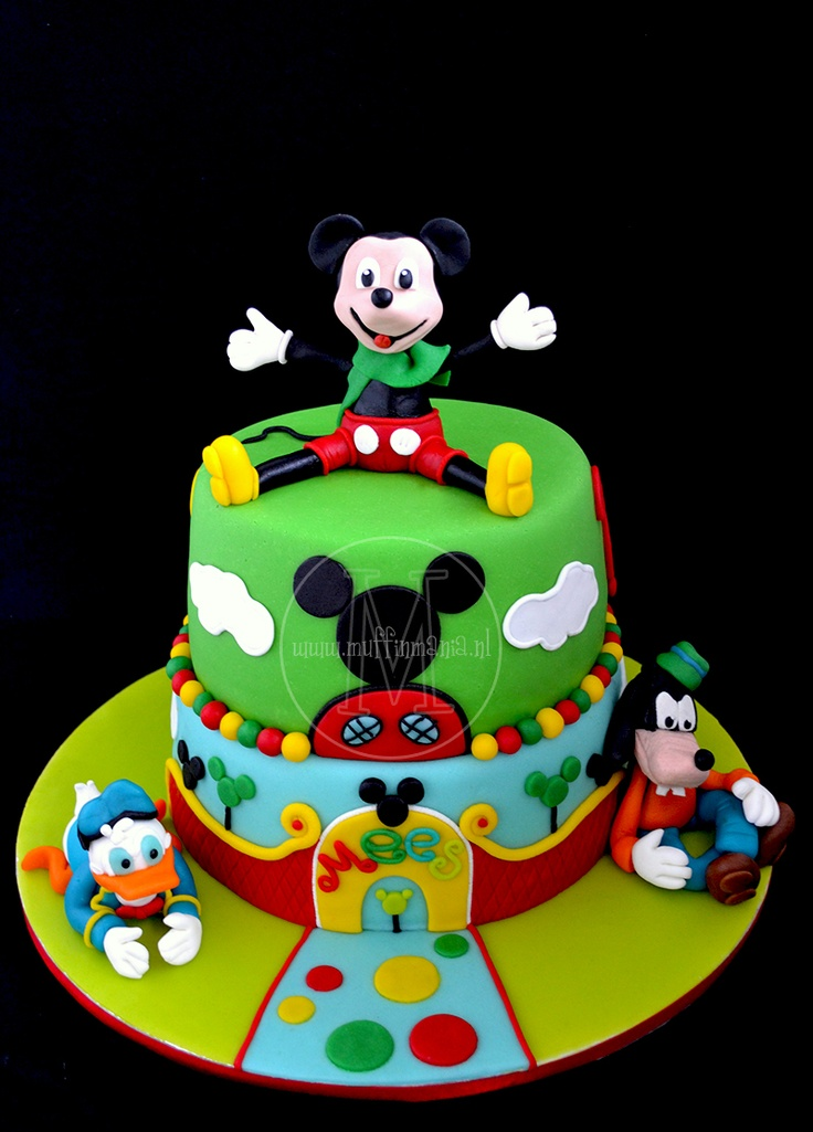 Cake Decorating Mickey Mouse Clubhouse
