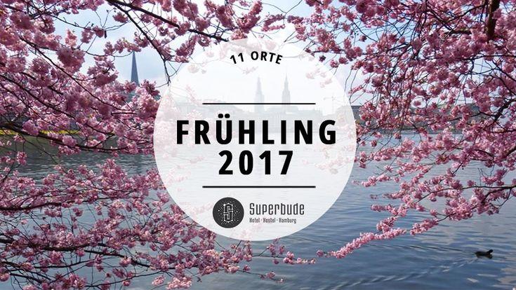 Verrückt, auch Hamburg kann Frühling. Mit folgenden elf Vergnügen wird das oft gute und öfter schlechte Wetter in dieser Saison ordentlich genutzt.