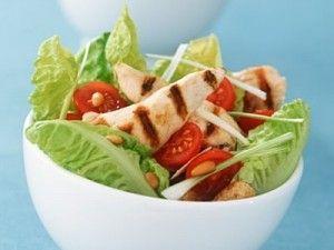 diyet tavuklu salata