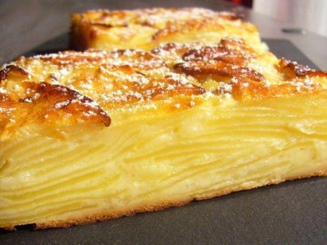 Gâteau invisible aux pommes                                                                                                                                                      Plus