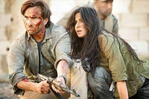 Saif Ali Khan and Katrina Kaif from Phantom