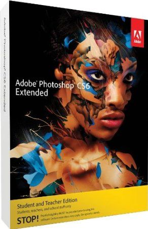 Adobe Photoshop CS6 Extended Student and Teacher Edition delivers all the imaging magic in Photoshop CS6 plus 3D graphic design and image analysis tools. Easily create rich 3D artwork, and enhance your 3D scenes with shadows, lighting, and animation. Retouch images with utter precision, control, and speed. Create vibrant videos and design anything you can imagine using intuitive tools. Paint and draw naturally and expressively.    Price: $229.99
