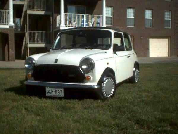 """1988 Austin Mini Mary Quant """"designer"""" - $12,500 ..."""