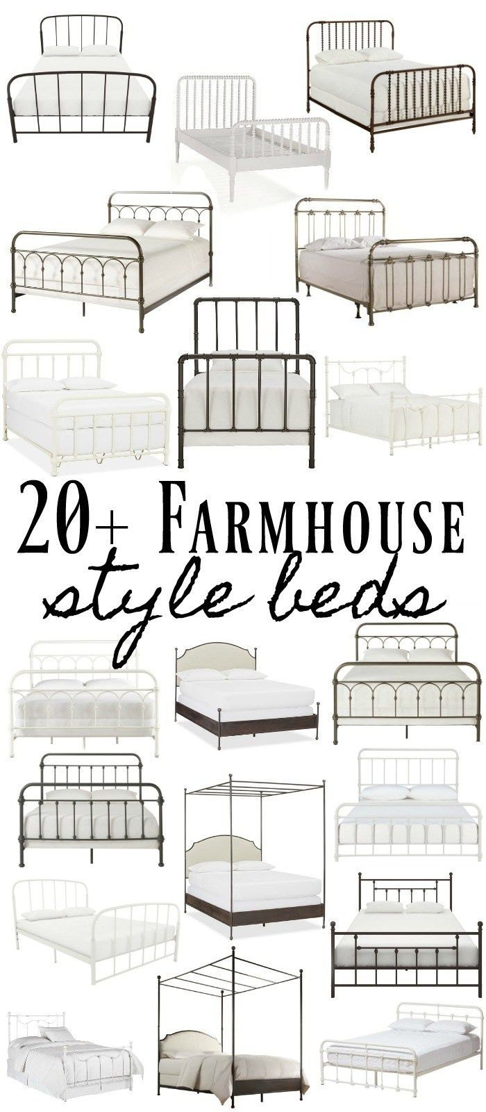 20+ Metal Farmhouse Style Beds