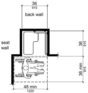 1000 images about ada showers on pinterest portable for Bathroom for disabled plan