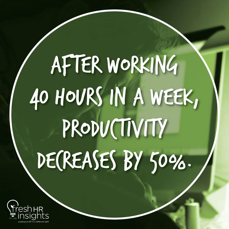 Research has shown that working when we're overtired leads to errors. #SunshineCoast #Wollongong #Biddaddaba #BiggeraWaters #Bilinga #BinnaBurra #Birnam #Thursdate #FunFact #Trivia #Didyouknow