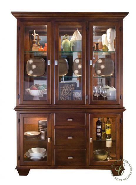 Amish Furniture Is Synonymous With Quality. Our Holcomb Bridge China Display  Case Is A Solid