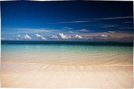 Het beroemde pasir panjang op de kei eilanden in de molukken of maluku.