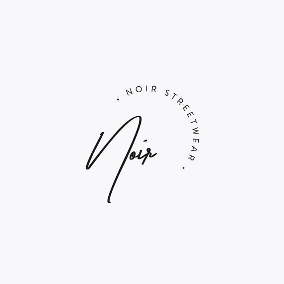 Premade Fashion Logo Design – Minimalistisch, Mode…