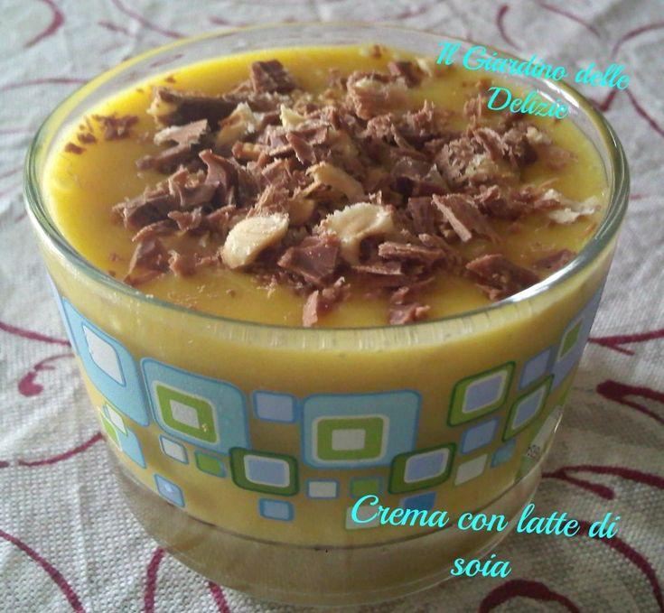 Crema con latte di soia