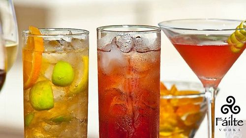 Long Island Ice Tea cocktails are the smoothest when they are made with FÁILTE VODKA | The World's Best Tasting Vodka
