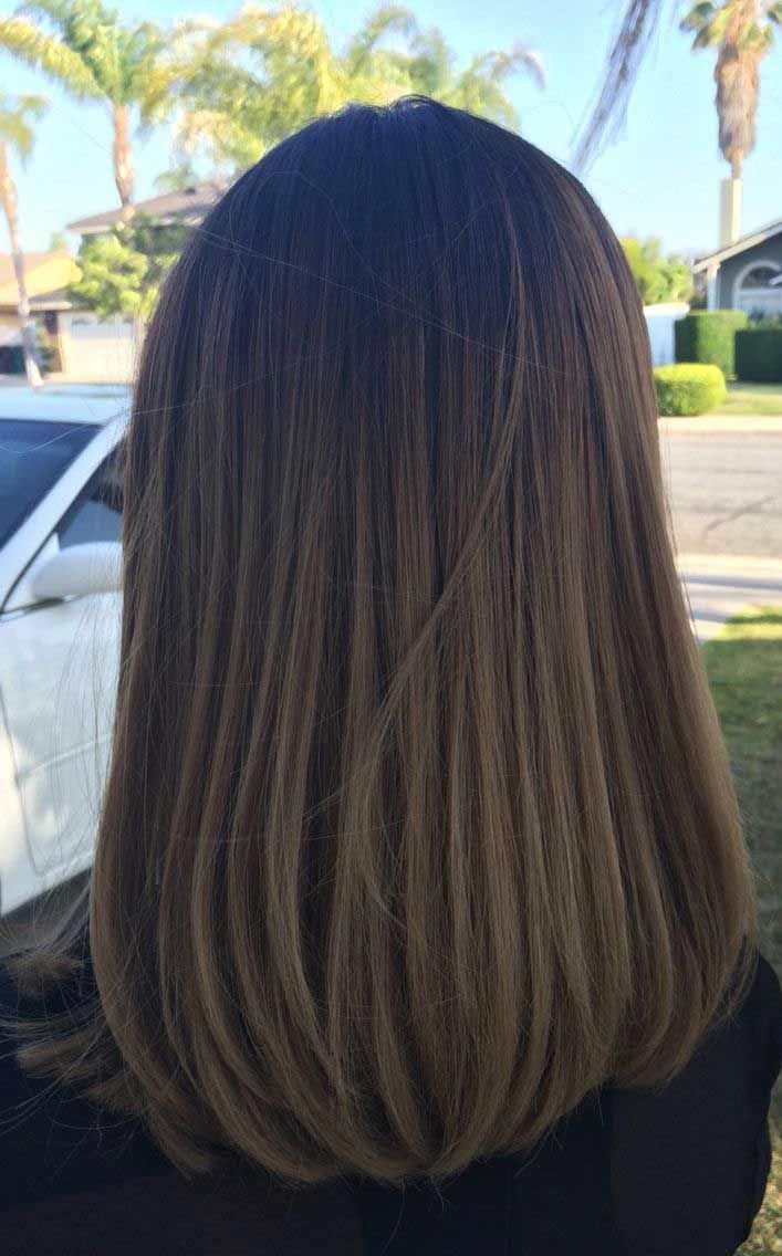 49 Beautiful Light Brown Hair Color To Try For A New Look Gorgeous Balayage Hair Color Ideas Brown Shoulder Hair Medium Length Hair Straight Long Hair Styles