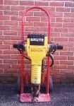$70 a day. The Brute™ Breaker Hammer by Bosch is a durable and versatile solution to your demolition needs. A favorite amongst the rental industry for its easy maintenance and short down time, this demolition hammer is known as the plug-in anywhere hammer, due the fact that it runs off of electricity and doesn't need an air compressor to run.