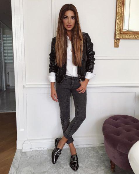 Negin Mirsalehi (27) ist unser Style-Liebling des Tages.