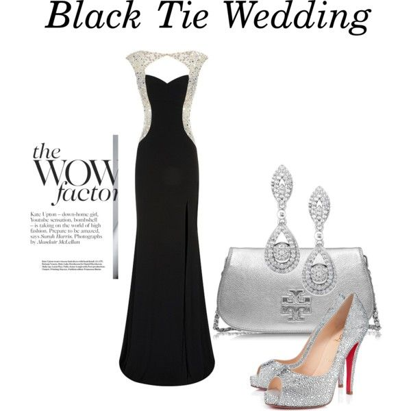love the dress but not a fan of the shoes and clutch