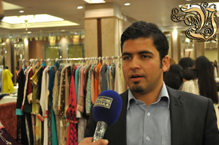 Director Operation Usman Usmani interviewed by SAMAA News Channel in Fashion Exhibition PC Rawalpindi on 4 March 2014.