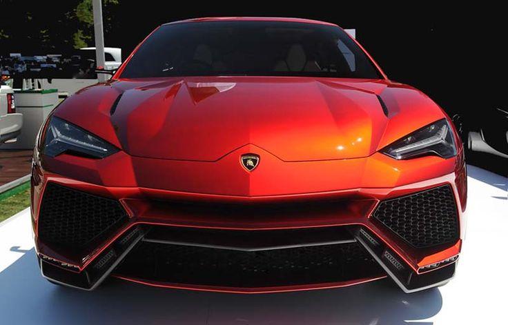 2018 Lamborghini Urus overview