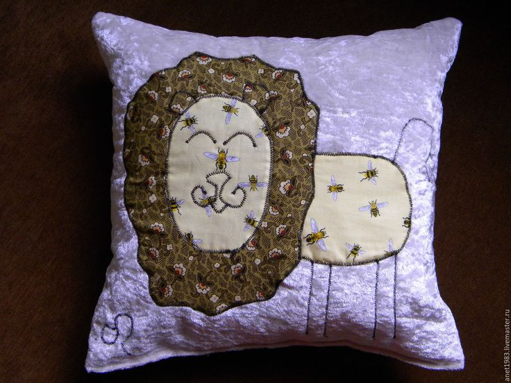 Купить Подушка-веселушка, знак зодиака Лев, Близнецы - комбинированный, подарок на любой случай