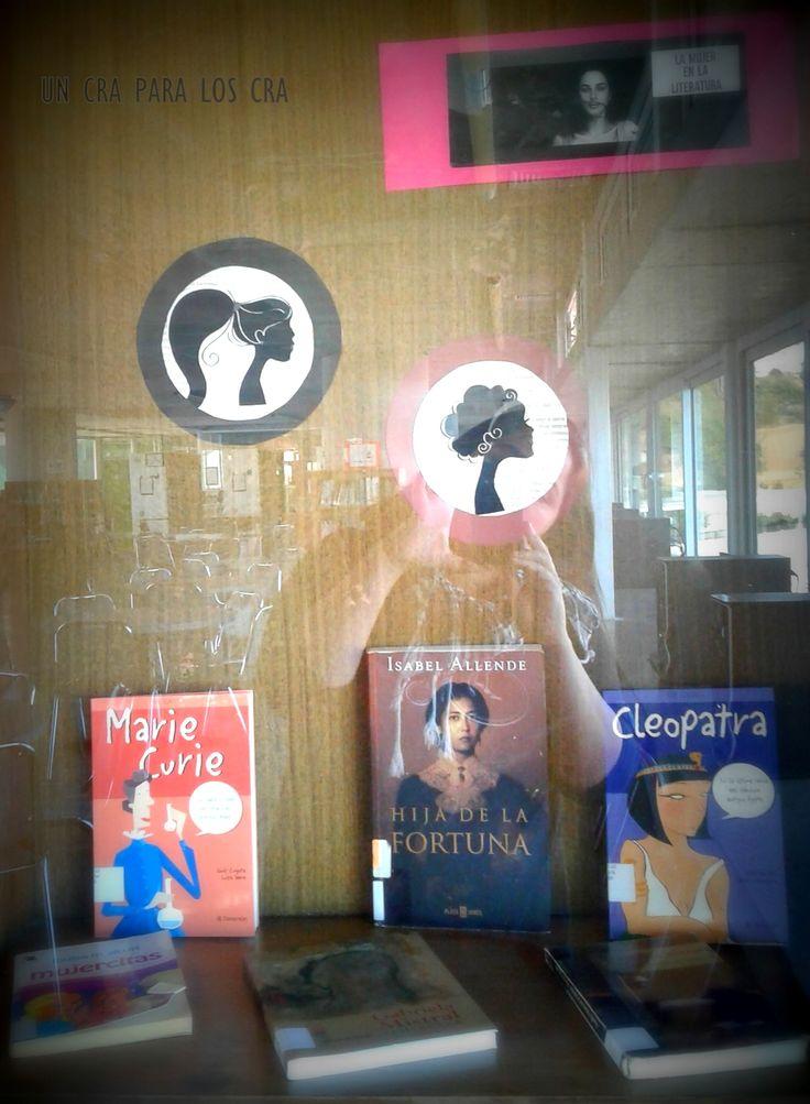 Dia de la mujer , decoración Mural biblioteca escolar decoración biblioteca infantil deco Library Display Library Un CRA para los CRA Bibliotekaro