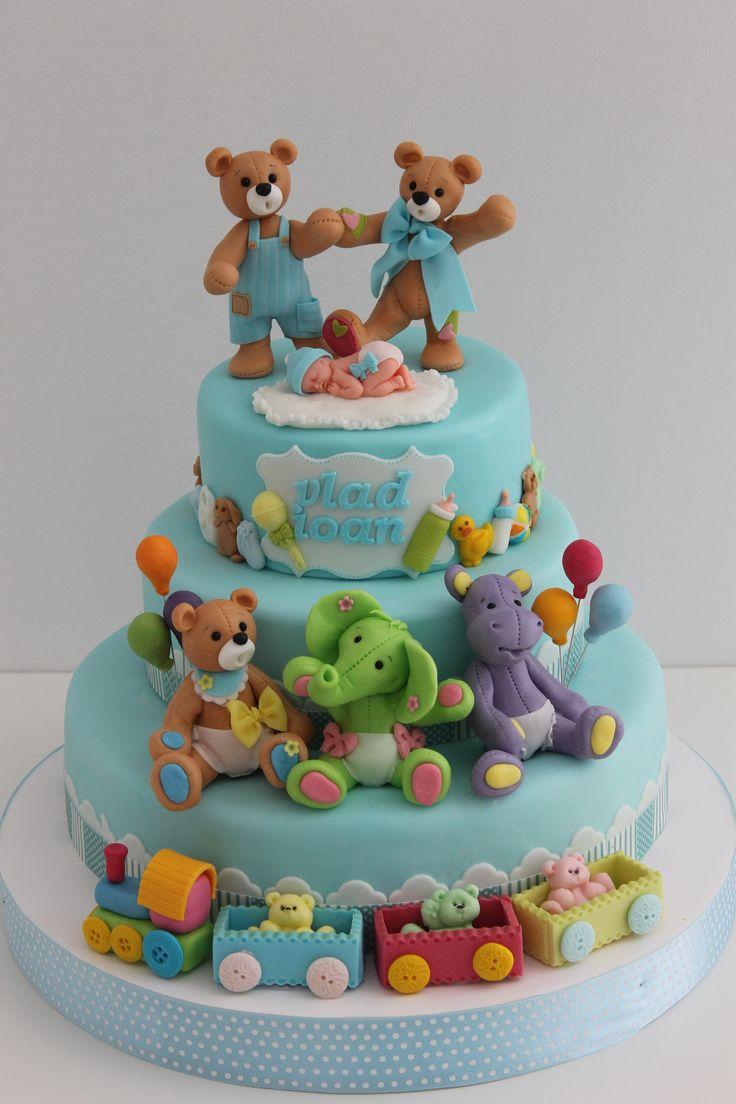 482 best Baby Shower Cakes images on Pinterest | Baptismal cakes ...